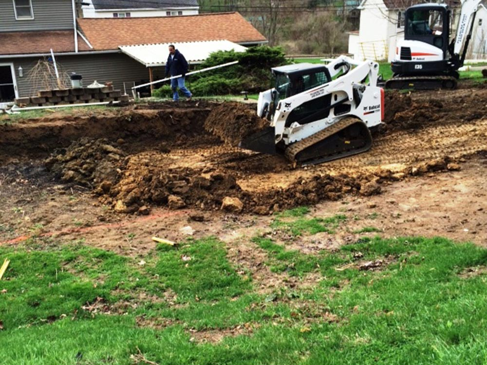 inground-pool-south-hills-pittsburgh-construction-bobcat