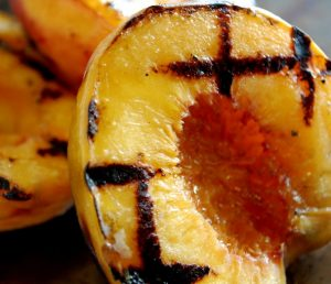 Savory Grilled Peaches